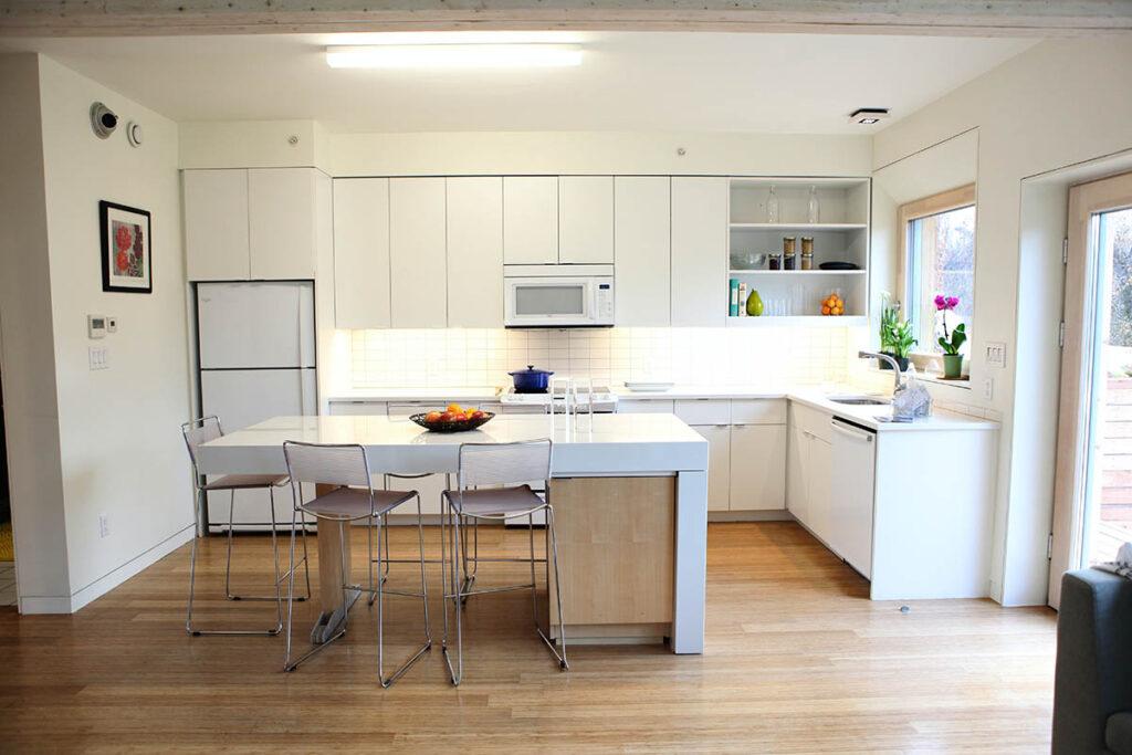Кухни с фасадами из ПВХ-плёнки